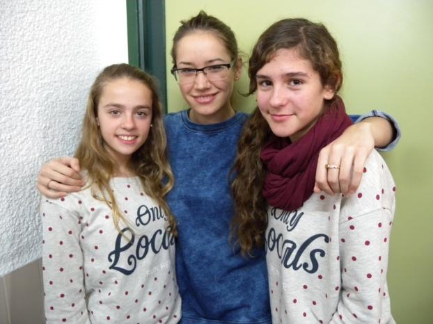 Miriam, Ester and Isobel