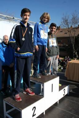 Individual Medal Winners Infantil Masculino 1st Ignacio Barco (Class 2A),2nd Adrian Galan (Class 2A)