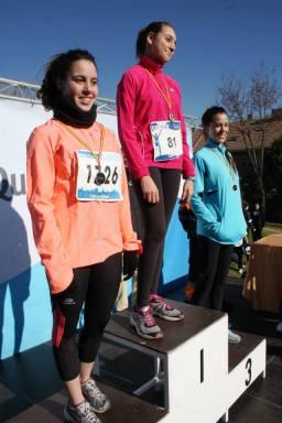 Individual Medal Winners Juvenil Feminino 1st Maria Serrano