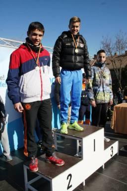 Indivual Medal Winners Cadete Masculino- 1st Ruben Roman, 2nd Hugo Duro (Cllass 4A)